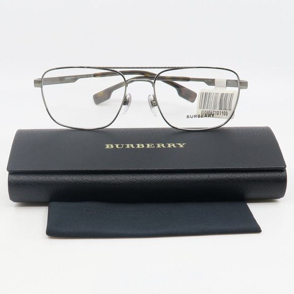 B1340 1144 Burberry Silver Eyeglasses with case